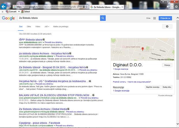 Za-Slobodu-Izbora---2.-mesto-prva-strana-Google-od-589.000-rezultata-pretrage---takodje-i-3.-4.-i-5